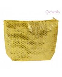 Pochette Lurex Giallo/Oro