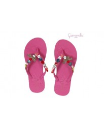 Ciabattine Mare Flip Flop Buttons PINK